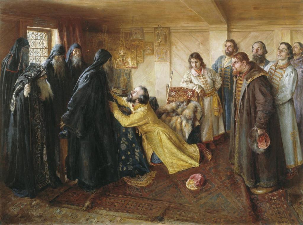 Раскаяние Ивана Грозного