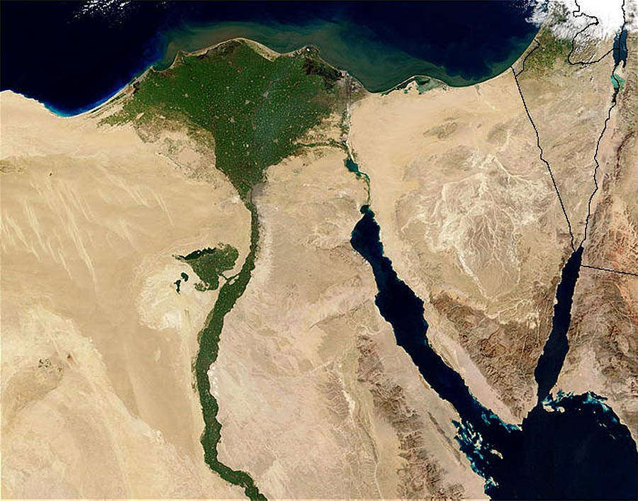 Долина и Дельта реки Нил